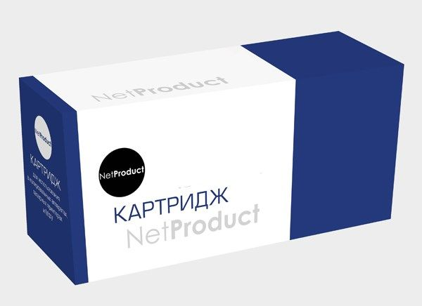 Картридж 125A N-CB542A NetProduct для HP CLJ CM1300/CM1312/CP1210/CP1215 Yellow, 1500 копий